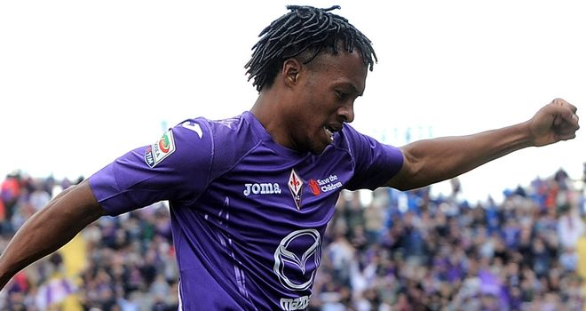 Juan Cuadrado found the net in Fiorentina's dramatic win