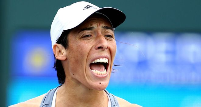 Francesca Schiavone: Defeated French opponent Virginie Razzano