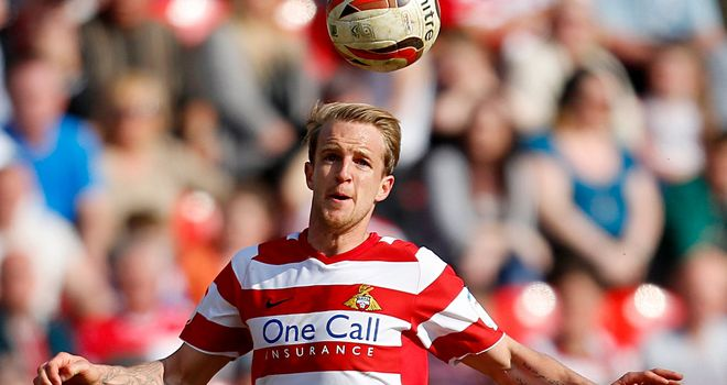 James Coppinger: On target for Doncaster against Bradford