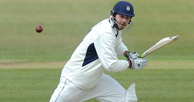 James Vince: In the runs for Hampshire