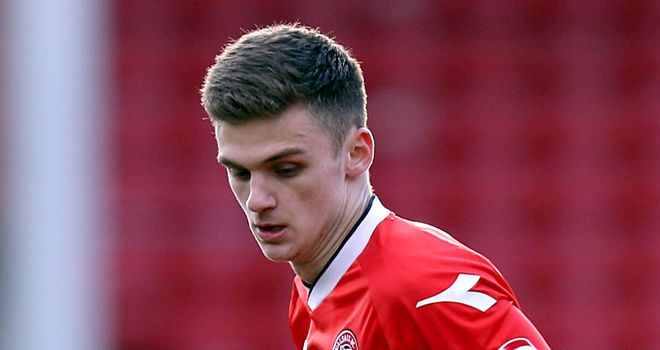 Jamie Paterson: Signed to Forest from Walsall