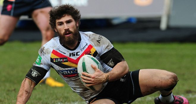 Jarrod Sammut: Looking to make his Bradford Bulls return sooner rather than later