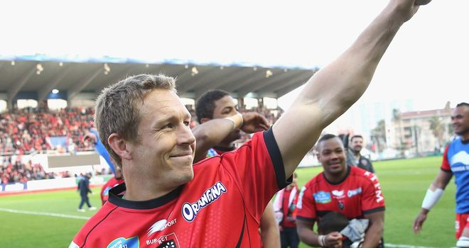 Jonny Wilkinson: kicked all 21 points as Toulon advanced in the Heineken Cup at the expense of the Leicester Tigers