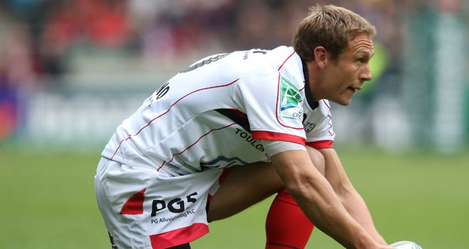 Wilkinson: Deadly with his boot at Twickenham