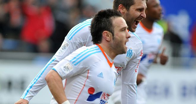 Mathieu Valbuena netted the game's only goal