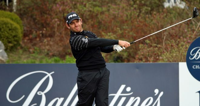 Louis Oosthuizen: Going well in South Korea