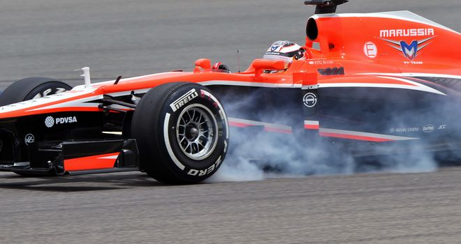 Marussia: Without a commercial rights deal