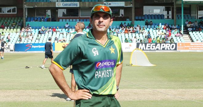 Misbah-ul-Haq: Believes his side can combat English conditions