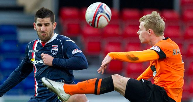 Evangelos Ikonomou (left): Set to return to Dingwall from Greece