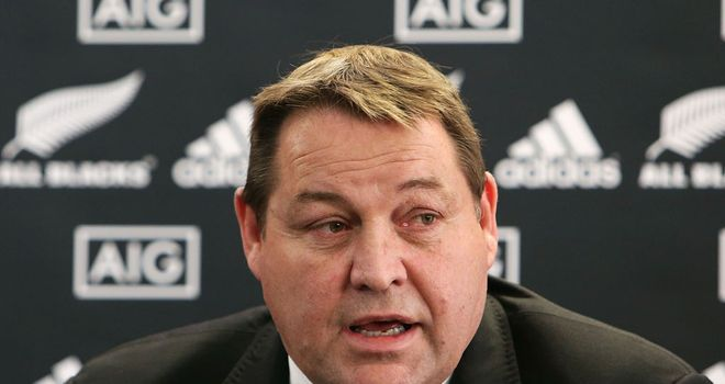 Steve Hansen: Has introduced new faces into All Blacks squad