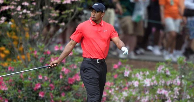 Tiger Woods: Struggled with pace of the greens