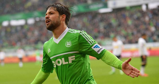Diego was on target in Wolfsburg's victory