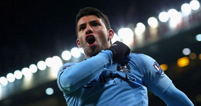 Aguero: hit City's winner against United