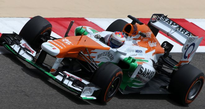 Paul di Resta: Fifth fastest in practice on Friday