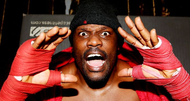 Dereck Chisora: Back in action on Saturday