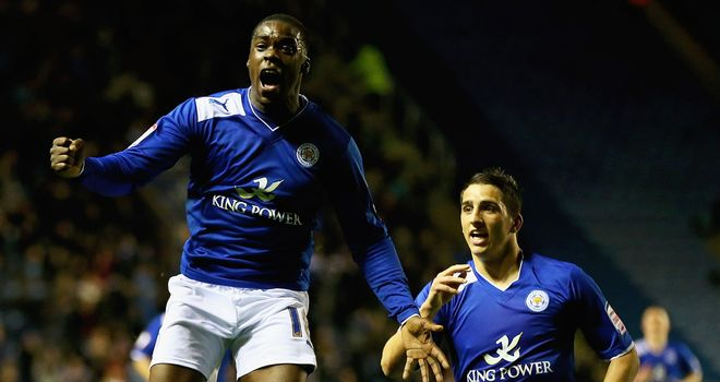 Jeff Schlupp: Celebrates his winning goal