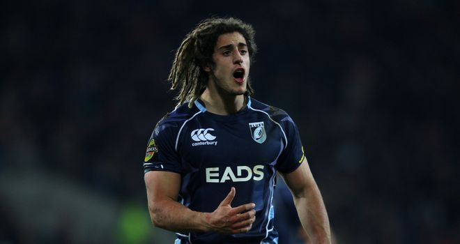 Josh Navidi: Will win his first cap for Wales