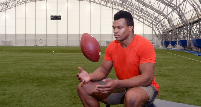 Lawrence Okoye: Undrafted but gets a deal from the San Francisco 49ers