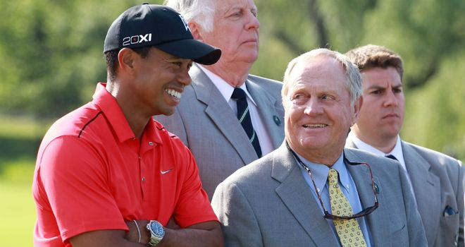 Jack Nicklaus is backing Tiger Woods to break his record of 18 majors