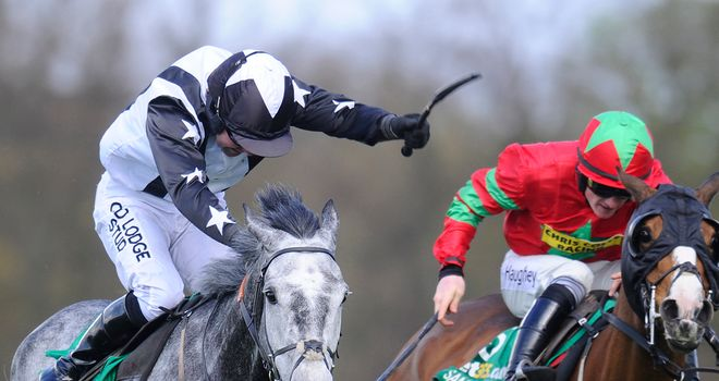 Quentiin Collonges (left): Fancied to score at Cheltenham