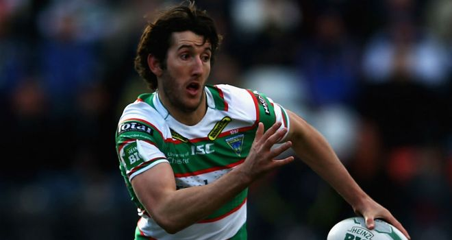 Stefan Ratchford: Scored two of Warrington's 10 tries against London