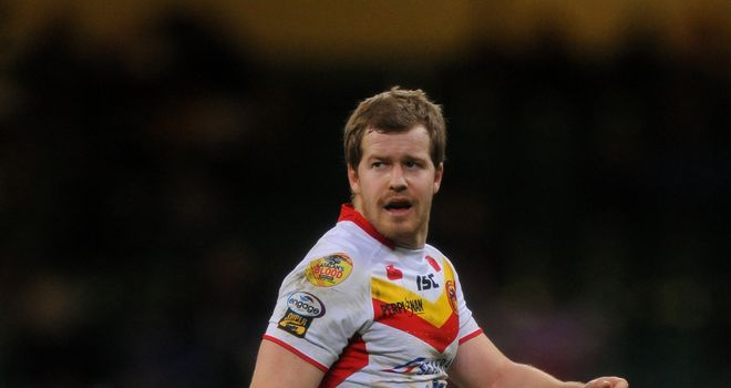 Catalans star Scott Dureau was taken to hospital but cleared of any injury