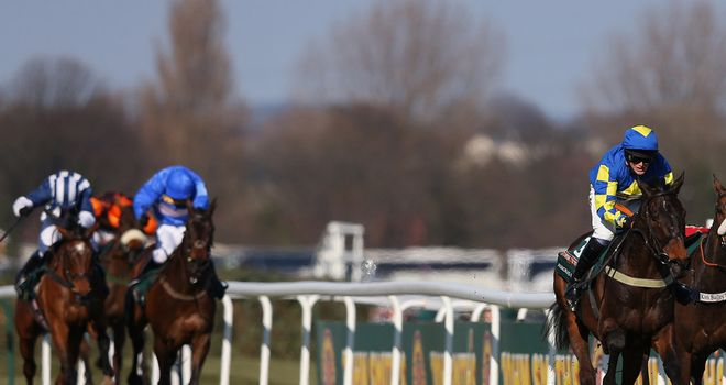 Cappa Bleu masters Teaforthree for second on the run-in