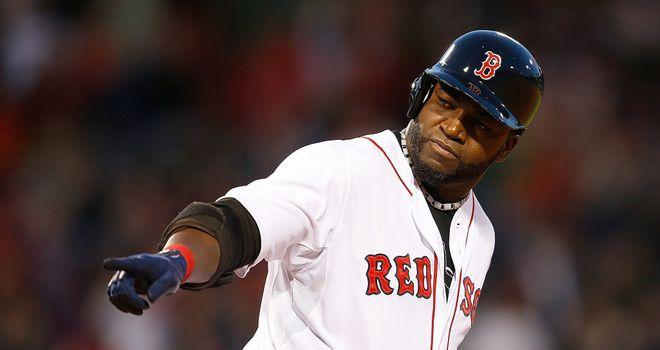 David Ortiz: hit his first home run of the season in Boston's 7-2 win over Houston on Thursday