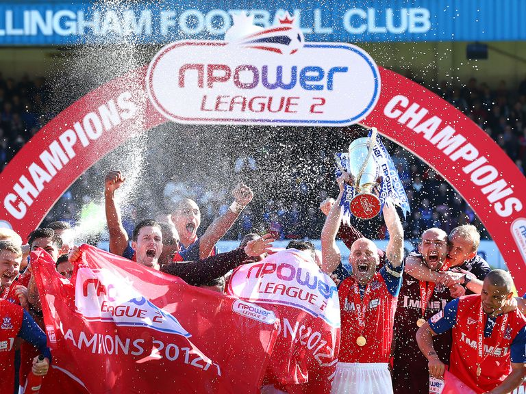 Gillingham: League Two champions