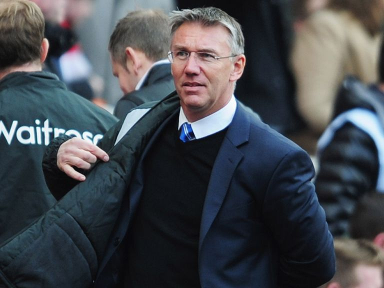 Nigel Adkins: Insists Reading are in a strong position