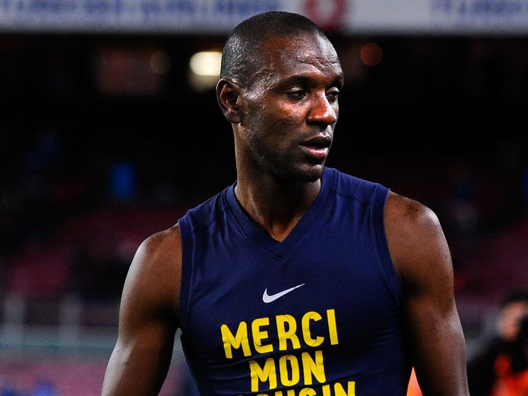 Eric Abidal: Keen to play again for Monaco