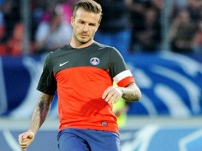 David Beckham: Enjoying his time at PSG