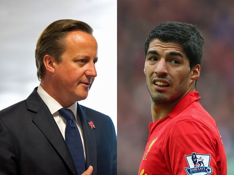 David Cameron: Explained his comments on Suarez's ban