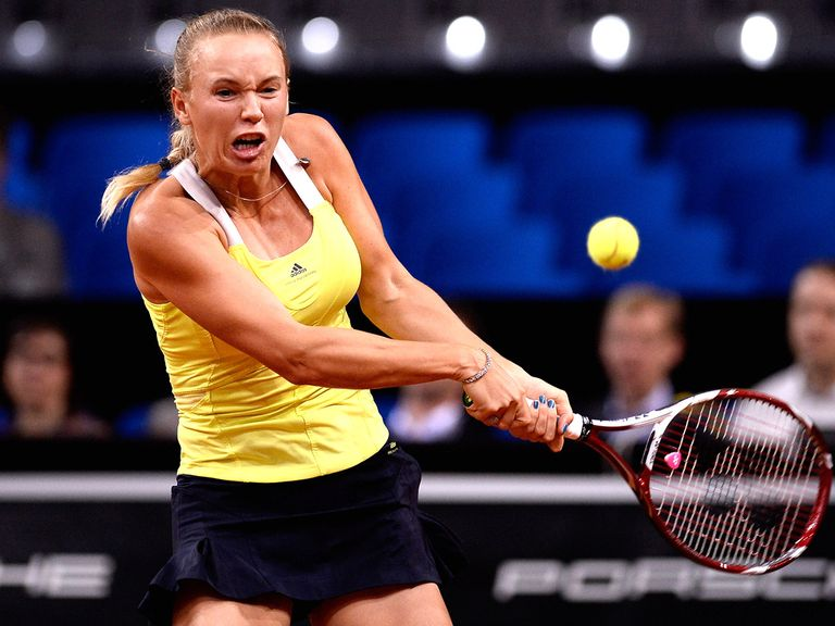 Caroline Wozniacki: Slumped to defeat in Stuttgart