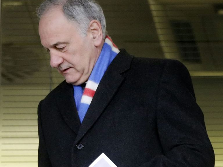 Charles Green: Rangers chief executive is set to step down