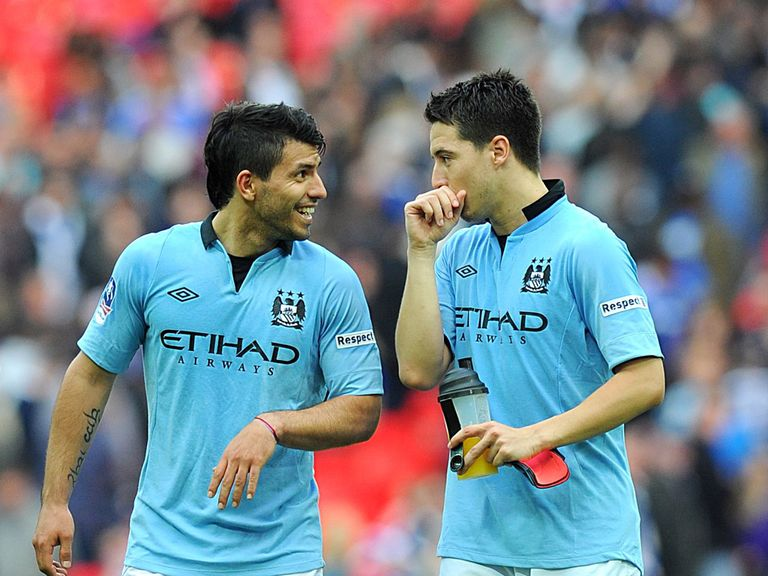 Samir Nasri and Sergio Aguero fired City to the final