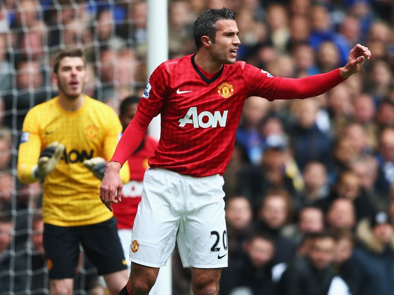 Van Persie: Backed to end goal drought