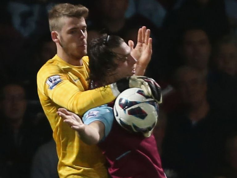 David de Gea: Impressed at Upton Park on Wednesday