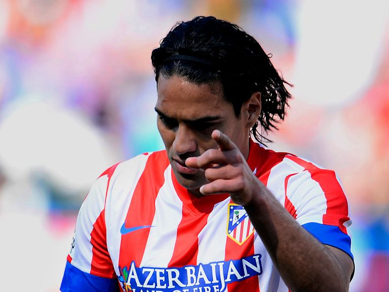 Falcao: Strongly linked with move from Atletico Madrid