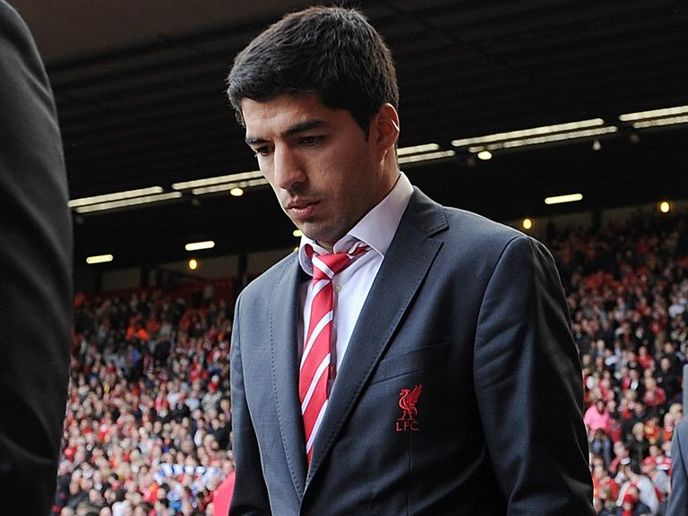 Luis Suarez: Has been linked with a move away from Anfield