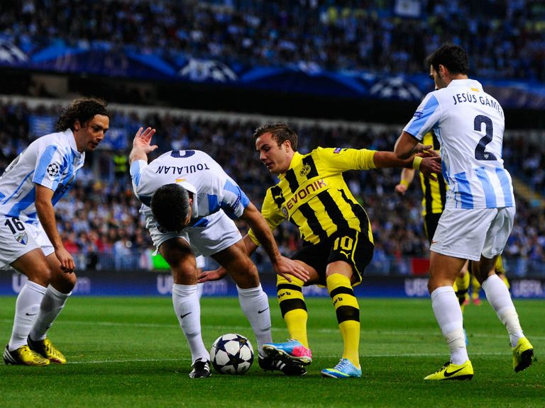 Borussia Dortmund: Can beat Malaga after last week's 0-0 draw