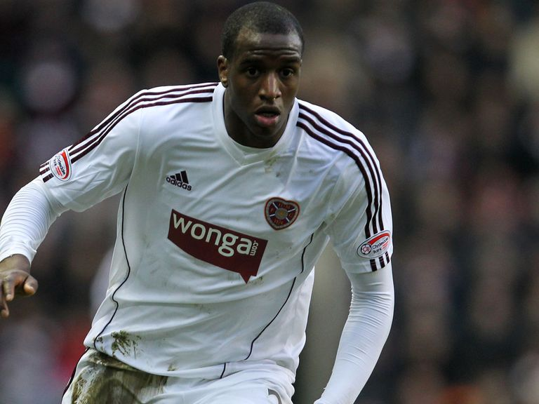 Michael Ngoo: Scored five times during loan spell at Hearts