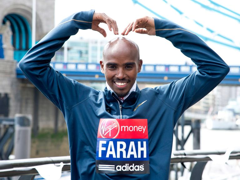 Farah: Focused on London Marathon