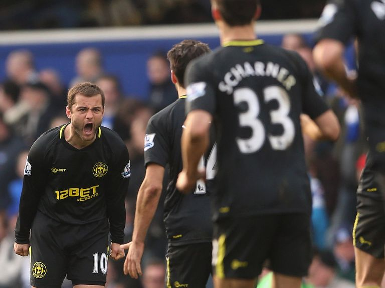 Shaun Maloney: Earned Wigan a draw at QPR