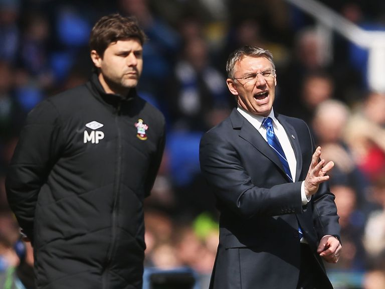 Mauricio Pochettino got the better of Nigel Adkins on Saturday