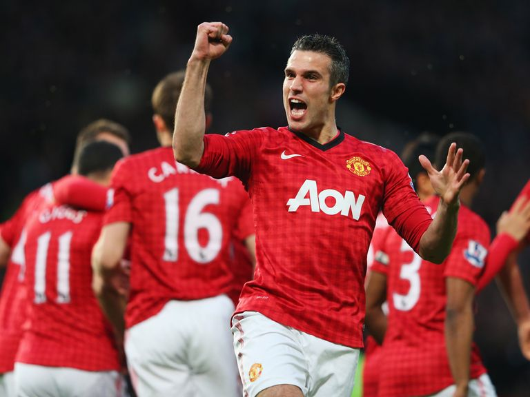 Robin van Persie: Set for a hot reception