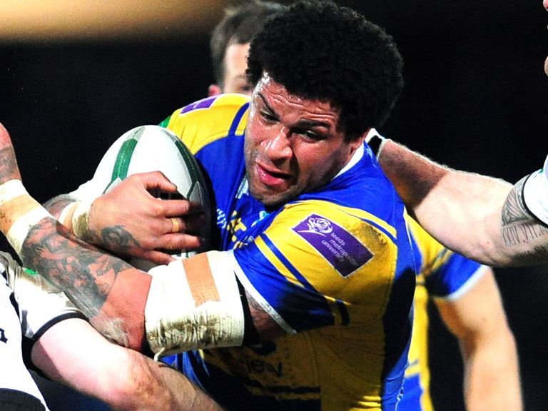 Ryan Bailey: Returning for Leeds after a four-match ban.
