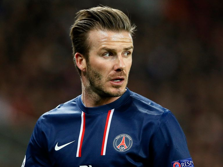 David Beckham: Yet to decide PSG future