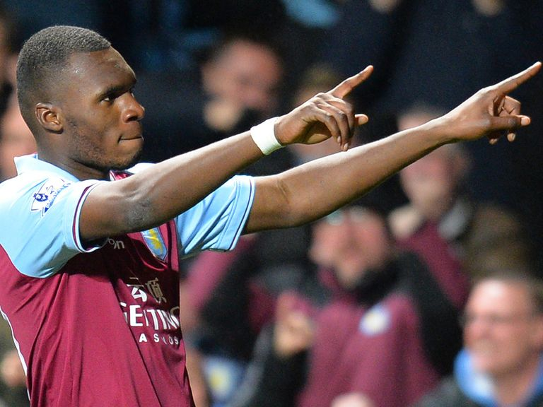 Christian Benteke: Striker very happy at Aston Villa