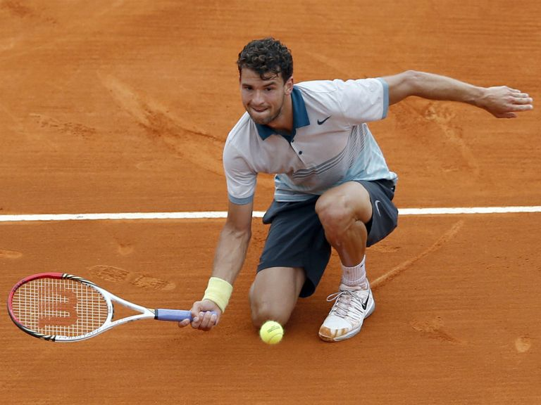 Grigor Dimitrov: The Bulgarian advanced after his opponent quit